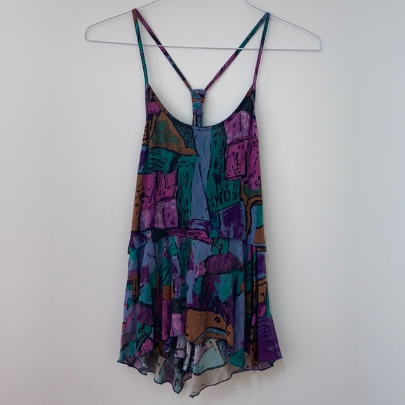 Wilfred Multi-coloured Tank
